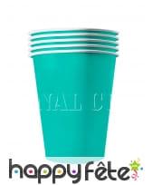20 gobelets USA en carton recyclable de 53 cl, image 4