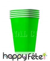 20 gobelets USA en carton recyclable de 53 cl, image 5