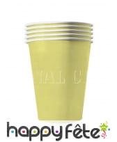 20 gobelets USA en carton recyclable de 53 cl, image 6