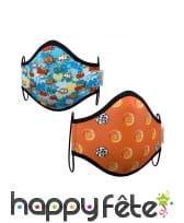 2 masques de protection Dragon Ball pour enfant