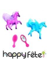 2 poneys à coiffer de 6 centimètres
