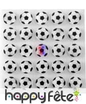 25 pins ballon de foot lumineux