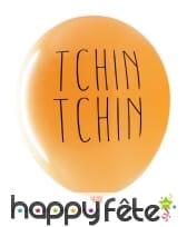 """3 Ballons """"Apéro"""" biodégradable de 27cm, image 4"""