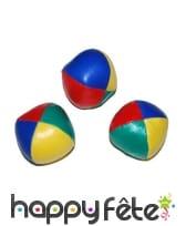 3 Balles de jonglage, 6cm