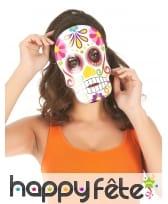3 Masques Dia de los muertos en carton, image 1