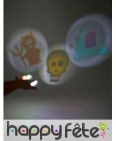 3 Projecteurs à doigt LED de Halloween, image 1