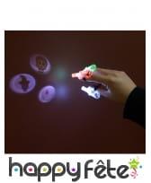 3 Projecteurs à doigt LED de Halloween, image 2