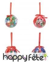 4 Boules de Noël Mickey Mouse 7,5cm