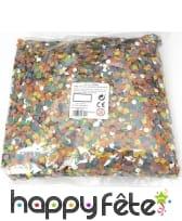 400gr de confettis multicolores, image 1