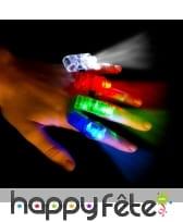 4 Lumières led pour doigt