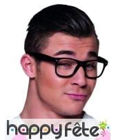 4 paires de lunettes noires type intello, image 1