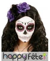 40 Strass de maquillage Dia de los muertos, image 3