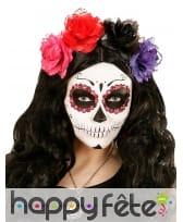40 Strass de maquillage Dia de los muertos, image 4