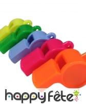 4 sifflets fantaisies et colorés, image 1
