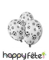 5 Ballons motifs Ballons de football