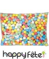 500 boules multicolores pour sarbacane