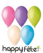 50 ballons pastel de 30 cm, image 10