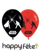5 Ballons Star Wars lumineux de 28 cm