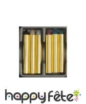 5 crayons gras de maquillage à paillettes, image 1