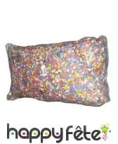 5kg de confettis multicolores en papier, image 1
