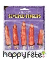 5 Faux doigts coupés