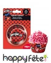 50 Moules Ladybug pour cupcake de 5cm, image 1