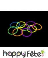 50 petits bracelets lumineux
