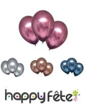 6 Ballons de 28 cm