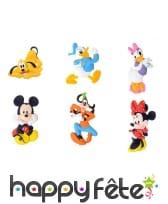 6 Figurines de Mickey et ses amis en sucre