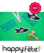 6 invitation en forme de chaussures de foot, image 2