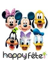 6 Masques de Mickey et ses amis