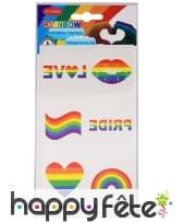 6 Tatouages gaypride