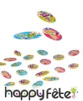 80 Confettis de table d'Anniversaire