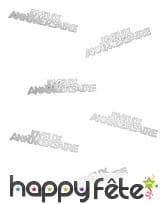 80 confettis Joyeux anniversaire de 5.5 x 1.3 cm, image 4