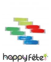 8 Mini jouets harmonicas multicolores