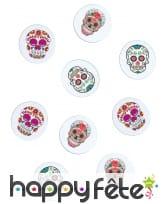 9g de confettis de table Dia de los muertos