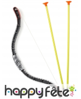 Arc à flèches en plastique de 38 cm