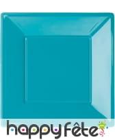 Assiettes carrées en plastique, image 3