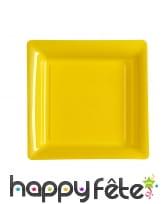 Assiettes carrées en plastique de 23,5cm, image 5