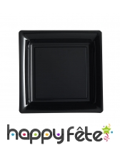 Assiettes carrées en plastique de 23,5cm, image 10