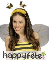 Antennes d'abeille avec froufrous