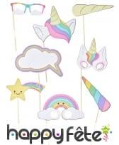 Accessoires déco de bébé licorne pour anniversaire, image 1