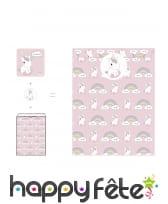 Accessoires déco de bébé licorne pour anniversaire, image 4