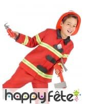 Accessoires de pompier pour enfant, image 1