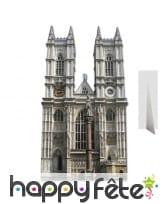 Abbaye de westminster en carton plat
