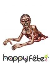 Affiche de zombie rampant