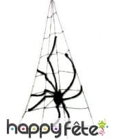Araignee géante avec toile de décoration