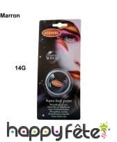 Aquacolor maquillage pour visage sans paraben, image 4