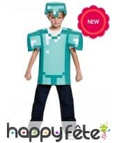 Armure Minecraft pour enfant