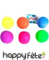 Balle anti stress colorée de 5cm
